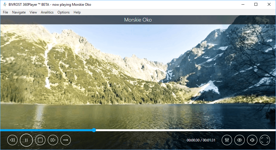 view 360 video on pc